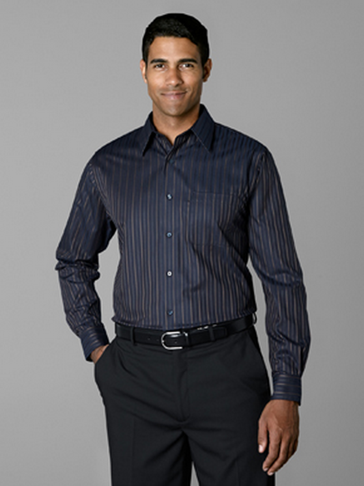 Men's Dark Stripe Shirt