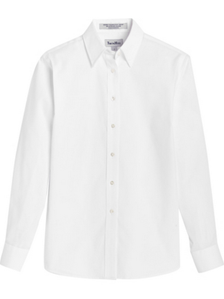 Women's Pinpoint Oxford Long Sleeve Blouse