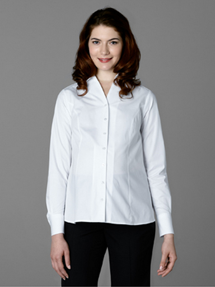 Women's Open Neck Maternity Blouse